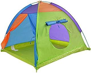YSJJWDV Teepee tält stora barn tält barn utomhus camping tält Tipi bärbar barn Tipi lekhus baby boll pool lekhage liten wi...