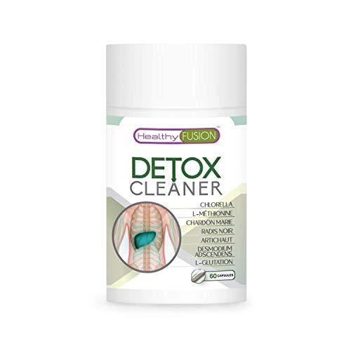 Detox du foie avec chardon-marie + radis noir et artichaut | Detox Minceur diurétique | Drainant et dépuratif | Élimine les toxines et les impuretés | Stimule la fonction digestive | 60 capsules