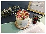 BMSYTY 1 unids Vela perfumada Rosa, Cera de Soja perfumada sin Humo, Día de San Valentín Regalo de Boda Decoración para el hogar (Color : Pink)