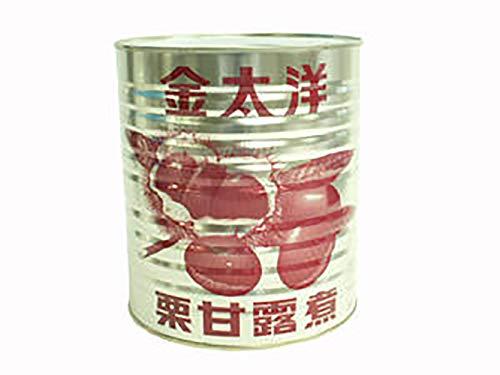 【 業務用 】 金太洋 栗甘露煮 1級 MM 1号缶 栗 甘露煮 マロン シロップ漬