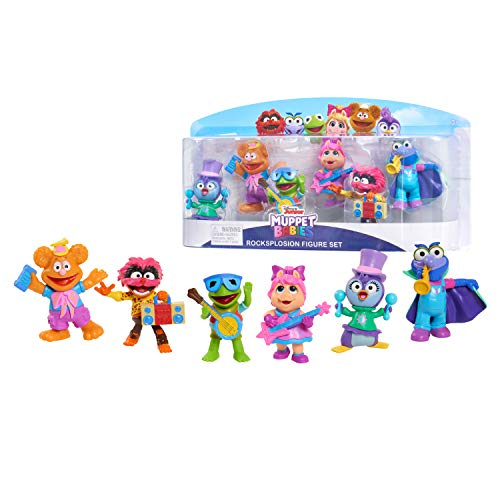 6-Pack Muppet Babies Rocksplosion Figure Set $7.50 + Free Shipping w/ Amazon Prime or Orders $25+