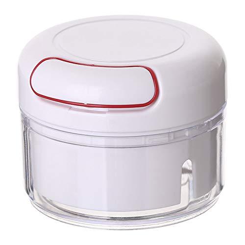 didatecar Manueller Mini-Zerkleinerer für Lebensmittel, Küchenmaschine und Lebensmittelschneider, Knoblauchzerkleinerer, Gemüseschleifer, geeignet für Küchenwerkzeuge