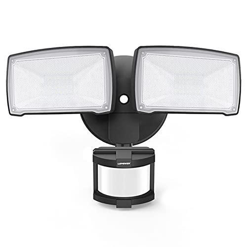 LEPOWER 28W LED Security Lights Motion Sensor Light Outdoor, 3000LM...