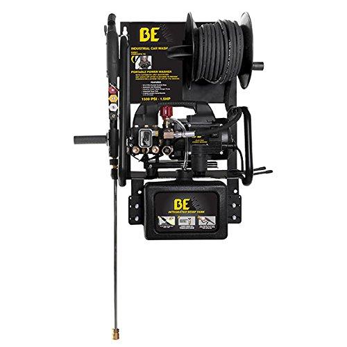 Hyundai P1515EPNW Wallmounted/Portable Electric Pressure Washer, 230 V, Black/Yellow