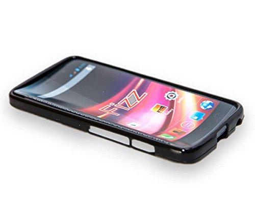 caseroxx TPU-Hülle für Wiko Fizz, Handy Hülle Tasche (TPU-Hülle in schwarz)