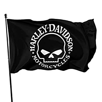 Harley Davidson Flag 3x5 FT Outdoor -Camping Flag Decorations Party Supplies,Flags for Home House Outdoor Indoor Decor  HD-5