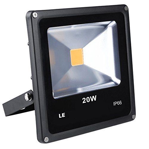 LE 20W Ultraheller Fluter IP66 wasserdicht Flutlicht ersetzt 200W Halogenlampe LED Außenleuchten LED Flutlichtstrahler LED Strahler LED Scheinwerfer (Warmweiß)