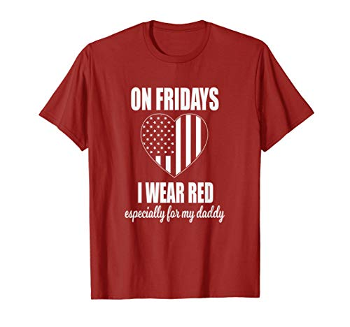 Deployed Daddy - Red Friday Military Kids T-Shirt