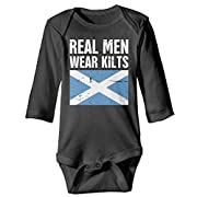 Mri-le1 Baby Girls Jumpsuit Lion Rampant Scotland Scottish Baby Clothes