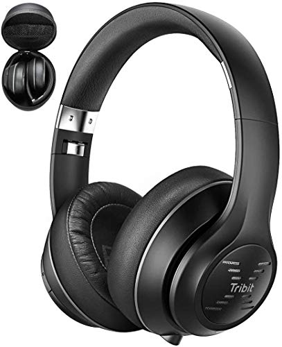 Tribit XFree Tune Bluetooth Headphones, [40h Playtime] Bluetooth Headphones Over Ear with Hi-Fi Stereo Sound & Rich Bass, Cnet