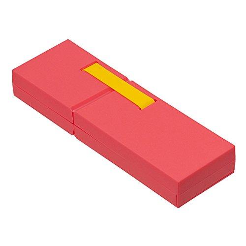 ナカバヤシ ディスプレイペンケース L 筆箱 ピンク PCN-DP02PN