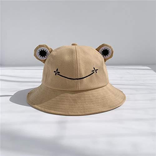 Sombrero de Cubo para la Madre y los niños Sombrero Plano Gorra Sombrero de Sol deVeranoGorra deHip...