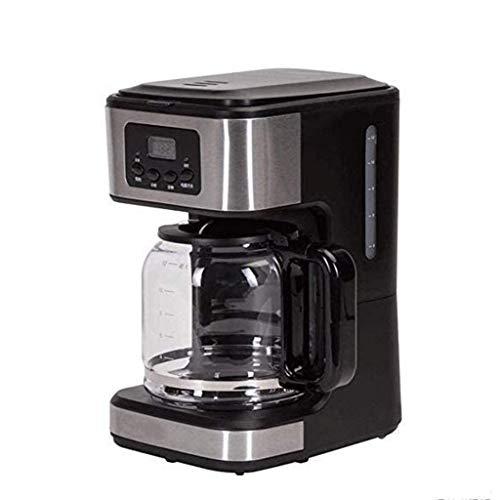 Cafetera, Cafetera De Filtro, Cafetera De 1.8L De Capacidad Que Produce Hasta 18 Tazas, Temporizador Programable De 24 Horas Con Pantalla LCD, 900w, Negro, Para Cafetera Espresso(Color:A(pack of 2))