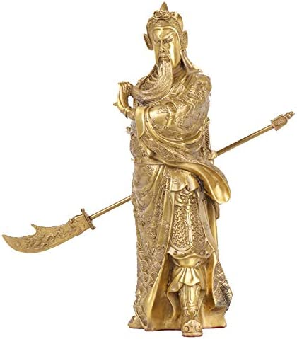 LAOJUNLU Pure Copper Ranking TOP18 Guan Gong Ornaments yu Li guan Hengdao OFFicial shop Home