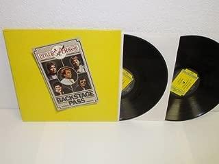 LITTLE RIVER BAND Backstage Pass 2-LP Capitol SWBK 12061 Double gatefold album