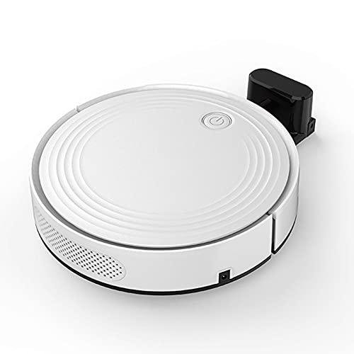 Robot Aspirador y fregona Aspirador automático, función de Limpieza, succión Potente, aplicación y Control de Voz con Auto Recarga, aspira y Limpia Suelos y alfombras