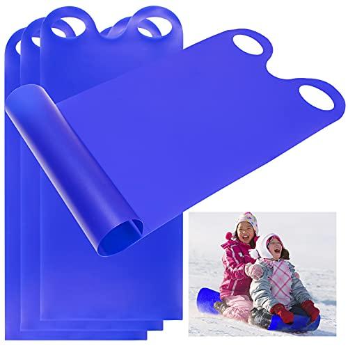 4Pcs Plastic Roll Up Snow Sled 17