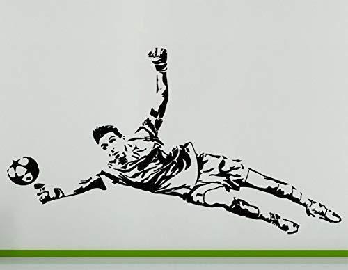 Gianluigi Buffon Italienisch Torwart Fußballspieler Wanddekoration Aufkleber - Nachricht mit Bunter Gewünscht, 84 cms wide x 48 cms high