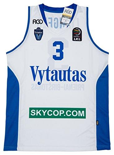 Original lamelo Ball BC Vytautas Trikot - Limitierte Ausgabe - Hergestellt in Litauen (liangelo skycop, Small)