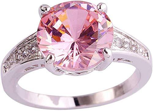 ZHJBD Fijne sieraden/Vrouwen Wit Goud verguld Champagne Kristallen Paar Ring