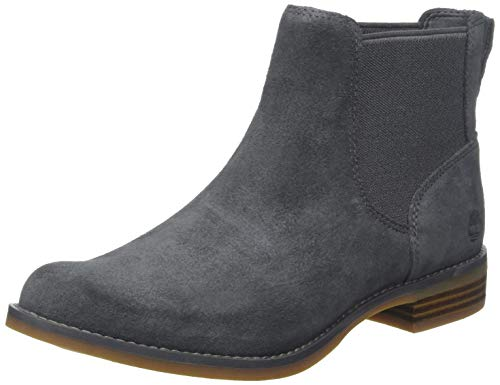 Timberland Damen Magby Low Chelsea Boots, Grau (Dark Forged Iron Suede C64), 38 EU