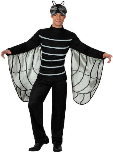 Atosa - Disfraz de mosca para hombre, talla M/L (15613)