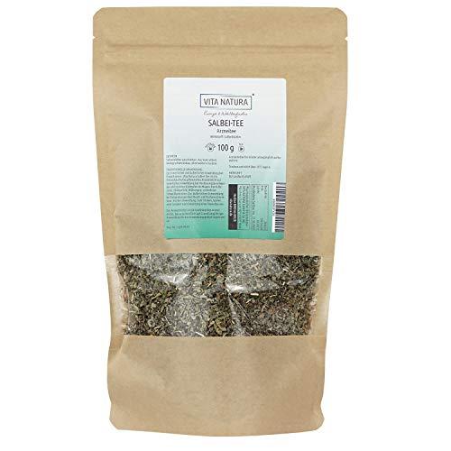 Vita Natura Salbei Tee, loser Arzneitee, Bio, 1er Pack (1 x 100 g)