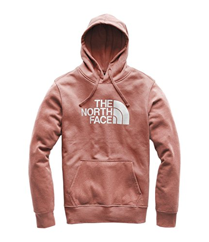 The North Face Men's Half Dome Pullover Hoodie - Sequoia Red & TNF White - S
