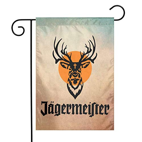 Jägermeister Logo Garten Flagge 12 x 18 Zoll, Dekoration Home Outdoor Patio Flagge
