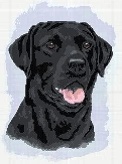 Black Labrador No2 Counted Cross Stitch Kit