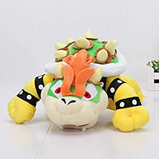 LAJKS 9'' 23Cm Rio Plush Toys Koopa Bowser Dragon Plush Doll Brothers Bowser Soft Plush Boy Must Haves Gift Tags Girls Favourite Characters Superhero Cupcake Toppers UNbox Game