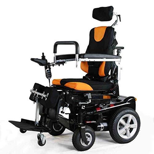 silla de ruedas Mayores de pie Silla de ruedas eléctrica for minusválidos, Se pone de pie, Acostado, Movilidad Eléctrica JH silla de ruedas