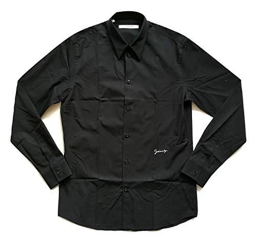 Givenchy Camisa de manga larga para hombre, 100jbm6058r negro Negro M
