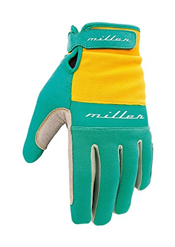 Miller Division S02GM0002 - Guantes, Color Azul Turquesa, Talla XS