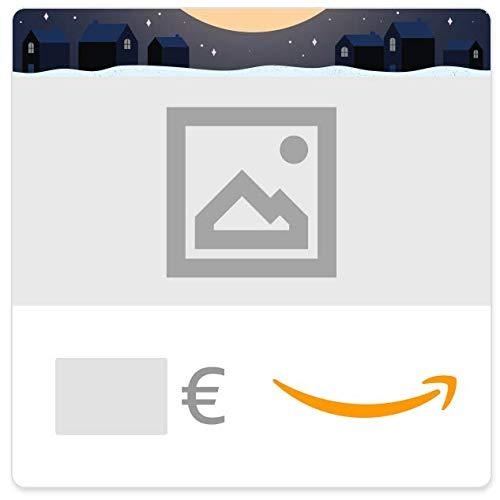 Digitaler Amazon.de Gutschein mit eigenem Upload (Weihnachtsmann im Kamin)