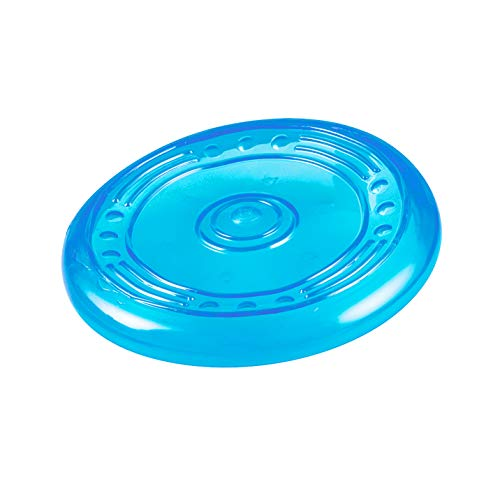 Petstages ORKA Flyer Rubber Durable Frisbee Chew