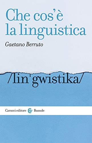Che cos'è la linguistica