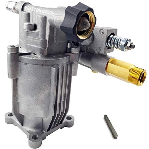 """Pressure Washer Pump Replacement 2800 Psi 2.5GPM Power Washer Pump - Horizontal Pump with 3/4"""" Shaft M22 Connectors Include Keyway"""
