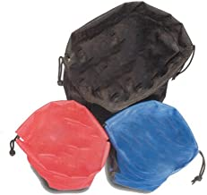 Tuff Products Ammo Bag (Set of 3), Red/Blue/Black