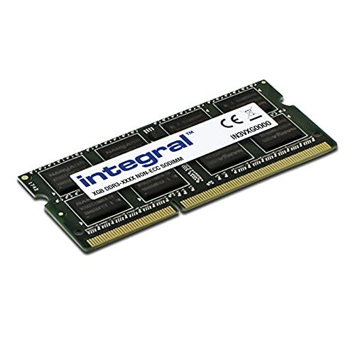 Integral Memory 8GB DDR3 RAM 1600MHz SODIMM Memoria para Portátil/Notebook PC3-12800