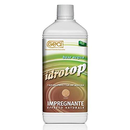 Impregnante effetto naturale idrorepellenza e protezione legno 1L Geal IDROTOP