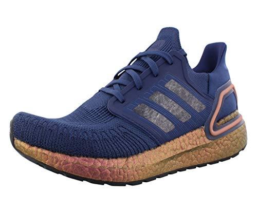 adidas Ultraboost 20 Mens Shoes Size 8.5, Color: Blue/Orange