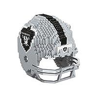 FOCO Las Vegas Raiders NFL 3D BRXLZ Puzzle Replica Helmet Set