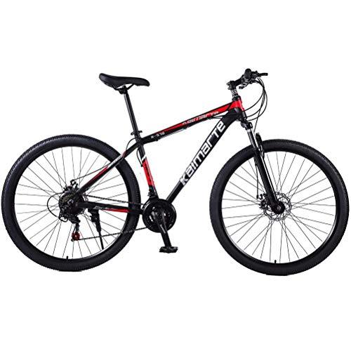 29 Pulgadas Cabellera Dura Bicicletas De Montaña, Manillar Antideslizante Mtb Bicicleta Con Suspensión Delantera Y Asiento...
