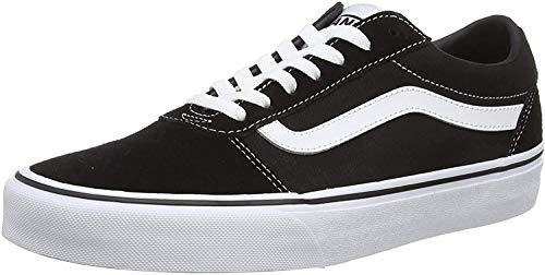 Vans Herren Ward Canvas Sneaker, Schwarz Checker Black True White , 41 EU (7.5 UK )