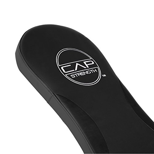 CAP Barbell Flat/Incline/Decline Bench, Black