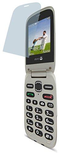 4ProTec I Doro PhoneEasy 631 632 (4 Stück) Premium Bildschirmschutzfolie Displayschutzfolie kristallklar - Kratzfest UND PASSGENAU