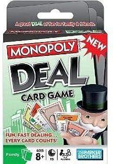 لعبة بطاقات مونوبولي من هاسبرو