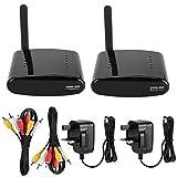 Anti-interference 24-Channel 5.8GHz Wireless AV Audio & Video Sender Transmitter & Receiver System for DVD / DVR / IPTV / DVB-S / DVB-C / TV