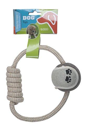 Dog Corde de Jeu pour Chien Naturel 6,5 x 20 cm